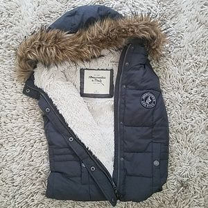 Abercrombie and fitch vest